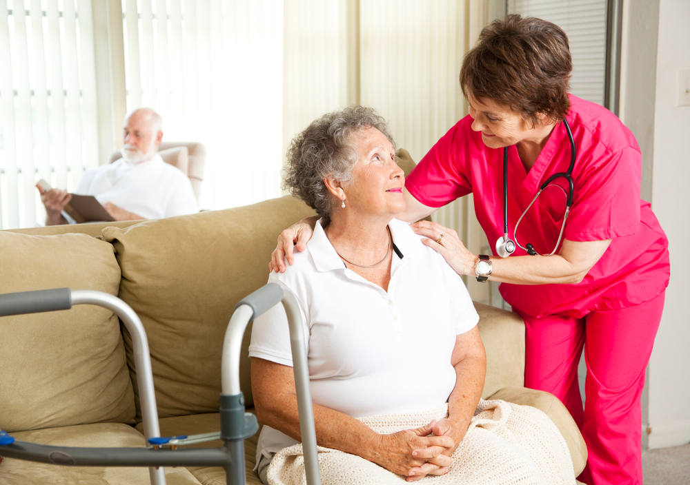 Home Health Care Worker & Patient